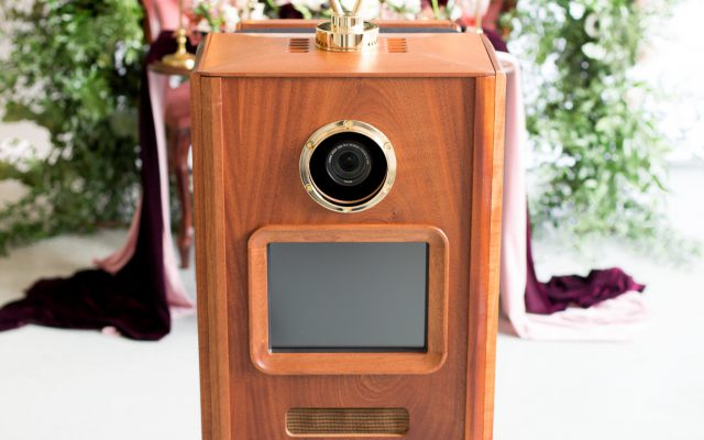 Wooden Vintage photo booth hire Cheshire, Shropshire, Staffordshire