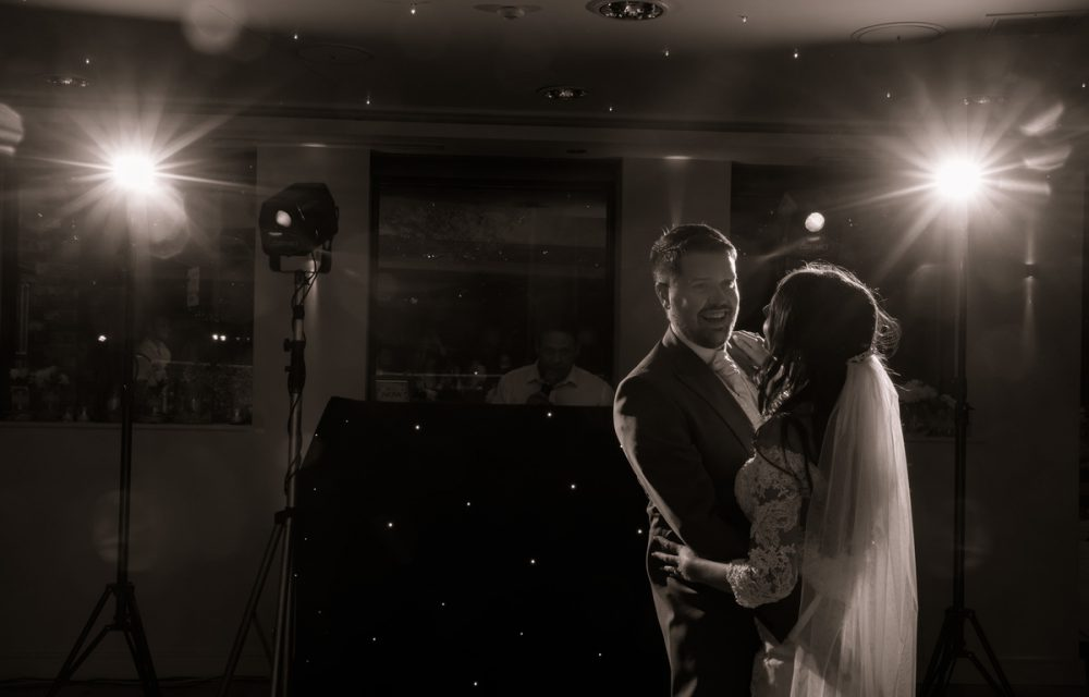 first dance wedding shot